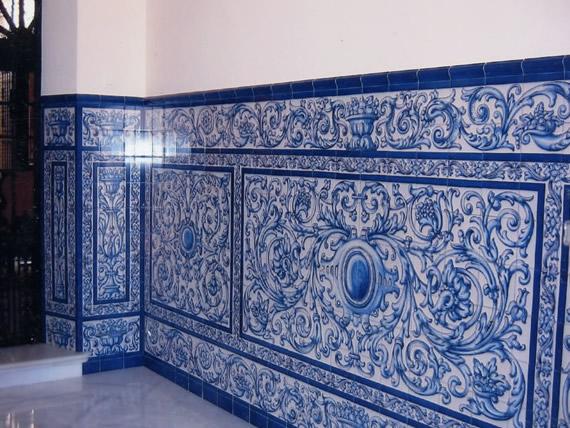 J a molina artesan a en cer mica azulejos y decoraci n for Azulejos de ceramica